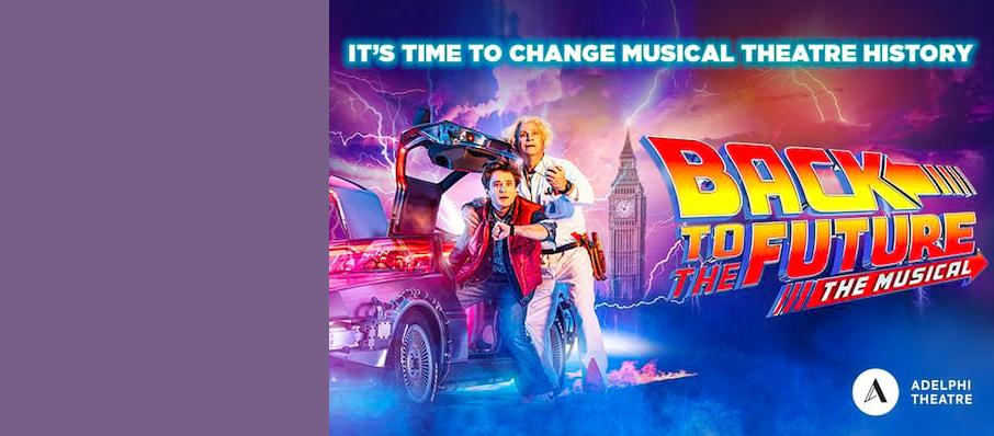 Back To The Future The Musical, Venue To Be Confirmed, Sheffield